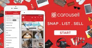 Carousell, Ubah Barang Tak Terpakai Milik Anda Menjadi Uang