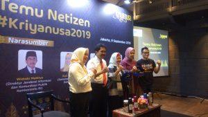 Kriya Nusa 2019, Ajak Millenial Cintai Produk Kerajinan Indonesia
