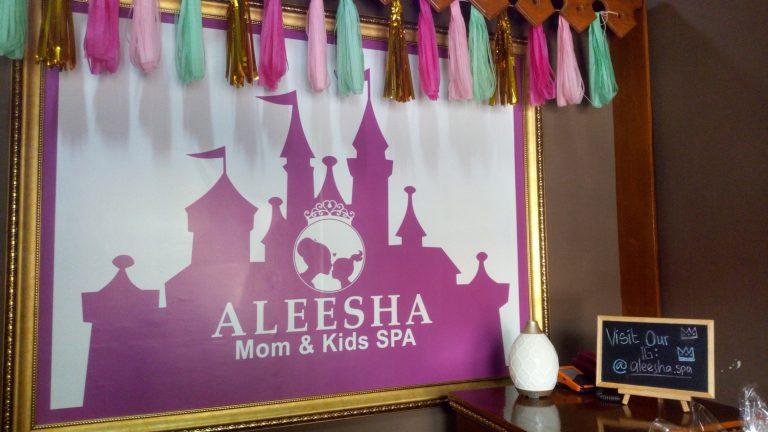 Aleesha Mom & Kids Spa, Manjakan Tubuh Ibu & Anak Layaknya Princess