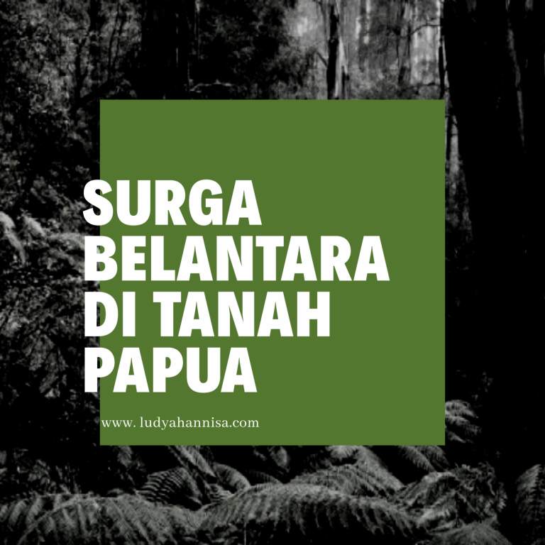 Indahnya Surga Belantara di Tanah Papua