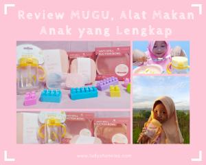 Review MUGU, Alat Makan Anak yang Lengkap