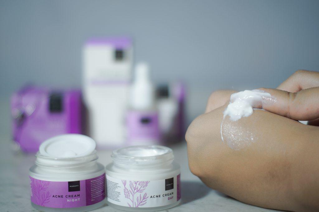 Scarlett acne cream series