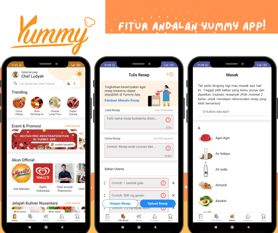 review yummy app